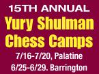 GM Yury Shulman Summer Chess Camp