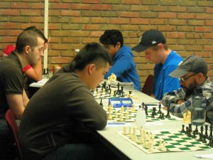Players at Illinois Class Championships